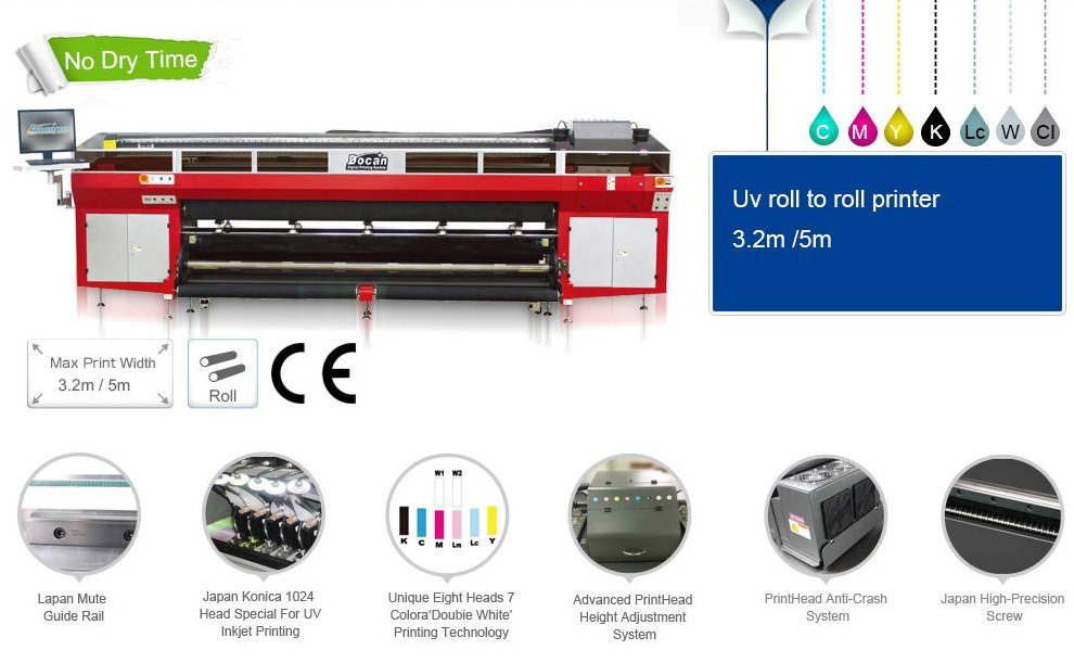 r3300 roll to roll uv printer
