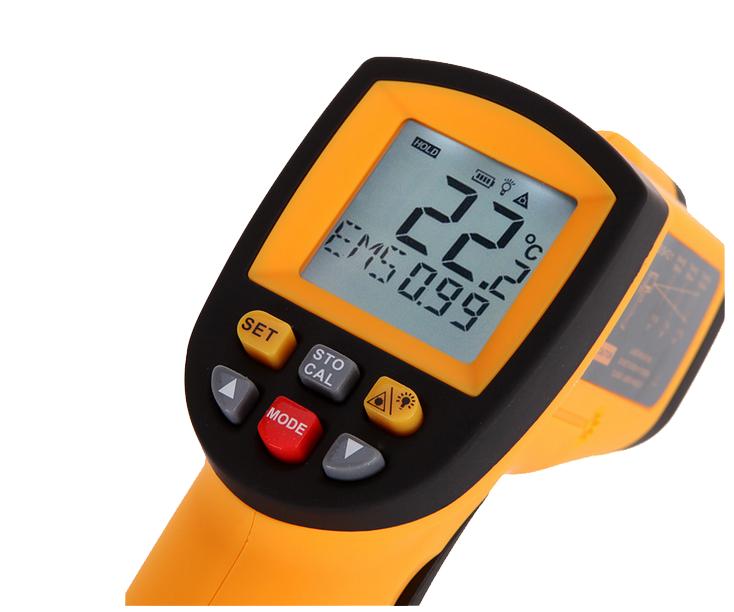 Ψηφιακό θερμόμετρο με infrared laser-2