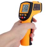 Ψηφιακό θερμόμετρο με infrared laser-3