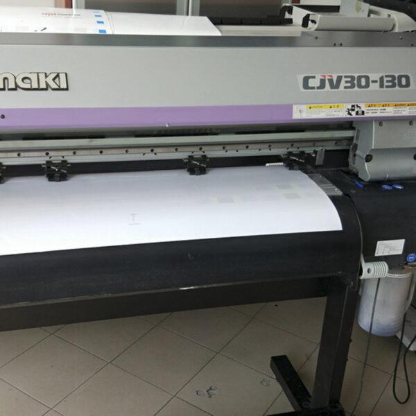 Mimaki CJV30-130 Print & Cut Used Εκτύπωση και Κοπή Μεταχειρισμένο