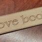 χάραξη και κατασκευή ξύλινου σελιδοδείκτη με laser